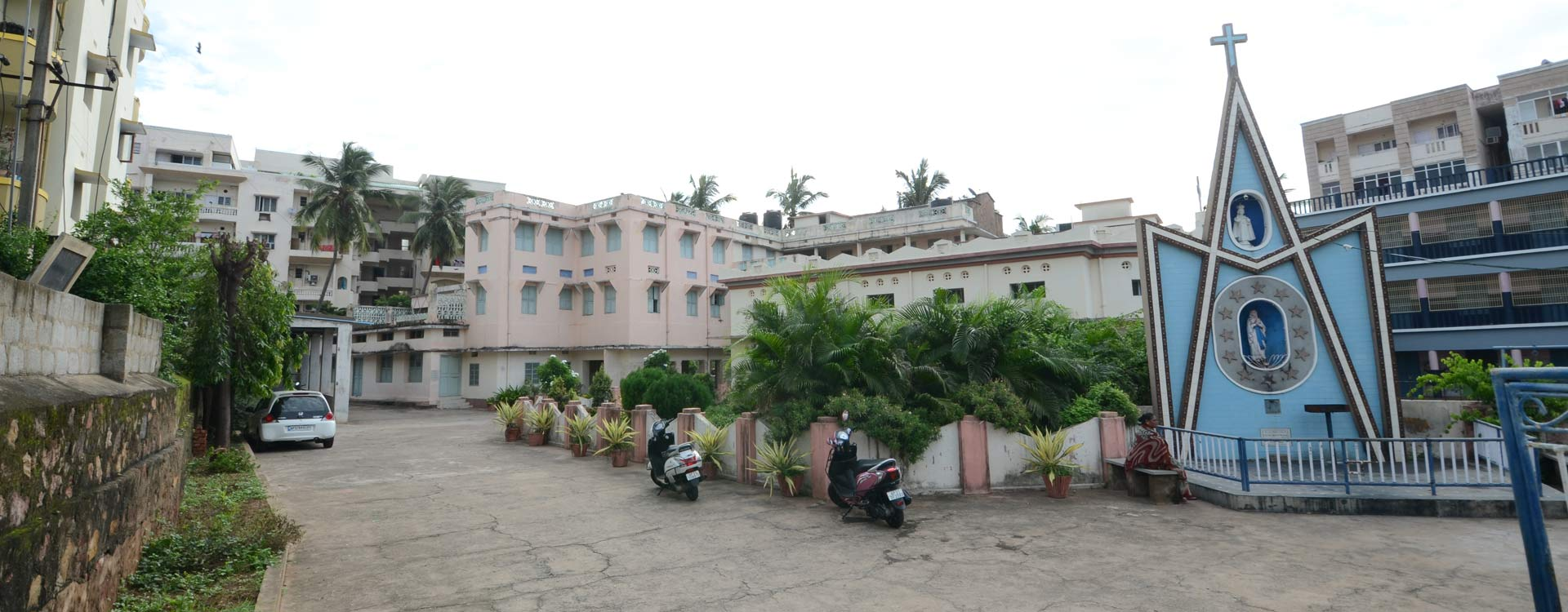 provincial house of msfs visakhapatnam